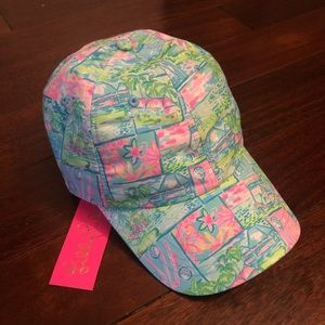 NWT Lilly Pulitzer Run Around Hat